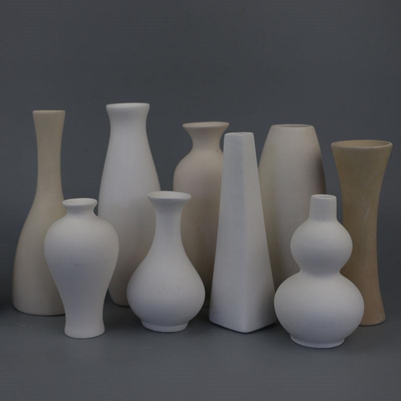 陶藝素坯白胎